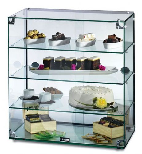 Glass Display Cabinet With Doors - 64.5*60cm